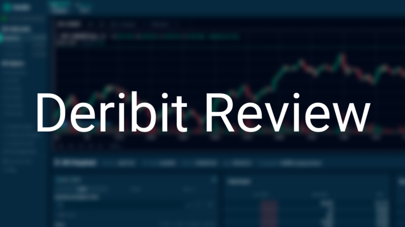 deribit review bitcoin options trading