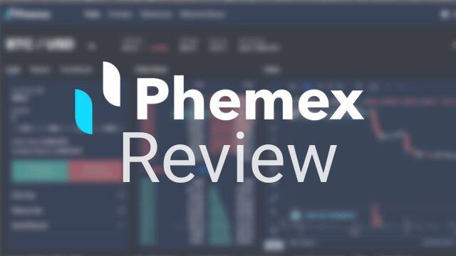 phemex review logo bitcoin bybit bitmex